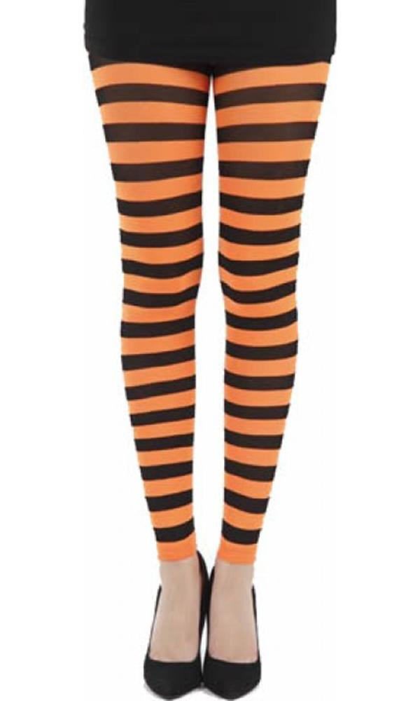 Twickers [Orange] | FOOTLESS TIGHTS*