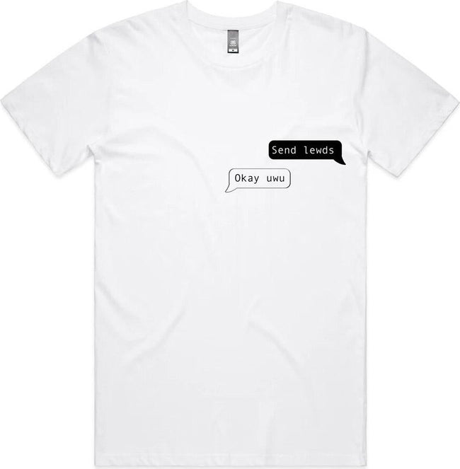 Send Lewds [White] | TEE
