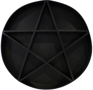 PENTAGRAM SHELF | Black