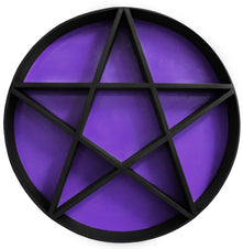 PENTAGRAM SHELF | Black & Purple 1