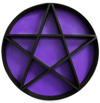 PENTAGRAM SHELF | Black & Purple