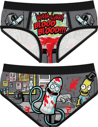 Wubba Lubba Blood | PANTIES