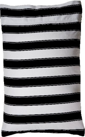 Black and White Striped | STANDARD PILLOWCASE SET
