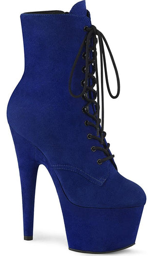 ADORE-1020FS | Royal Blue Faux Suede/Royal Blue [PREORDER]