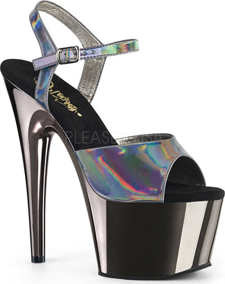 ADORE-709HGCH | Pewter Hologram/Pewter Chrome [PREORDER]