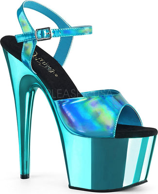 ADORE-709HGCH | Turquoise Hologram/Turquoise Chrome [PREORDER]