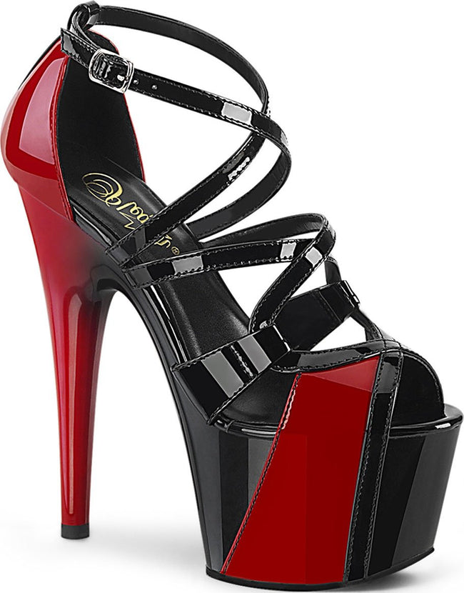 ADORE-764 | Black-Red Pat/Black-Red [PREORDER]