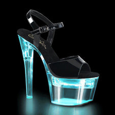 FLASHDANCE-709 Black PAT/Clear