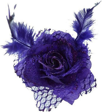 Flower [Purple] | HAIRCLIP & BROOCH