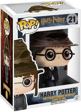 Harry Potter - Harry Potter with Sorting Hat  (Box)