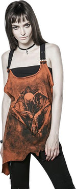 Ghoul Girl [Brown] | TOP