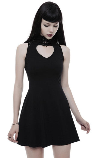 Sweet Heart Hollow Out | DRESS
