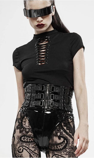 Ariadna [Black] | CROP TOP