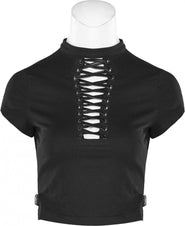 Ariadna [Black] | CROP TOP*