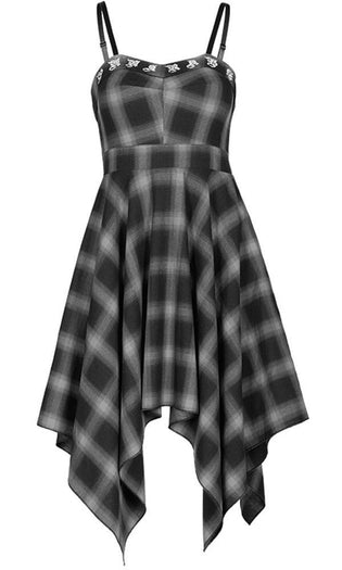 Irregular Plaid | DRESS