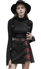 Plaid Suspender | SKIRT