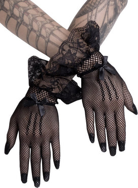 Short Black | MESH GLOVES