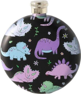 Black Dinosaur | HIP FLASK