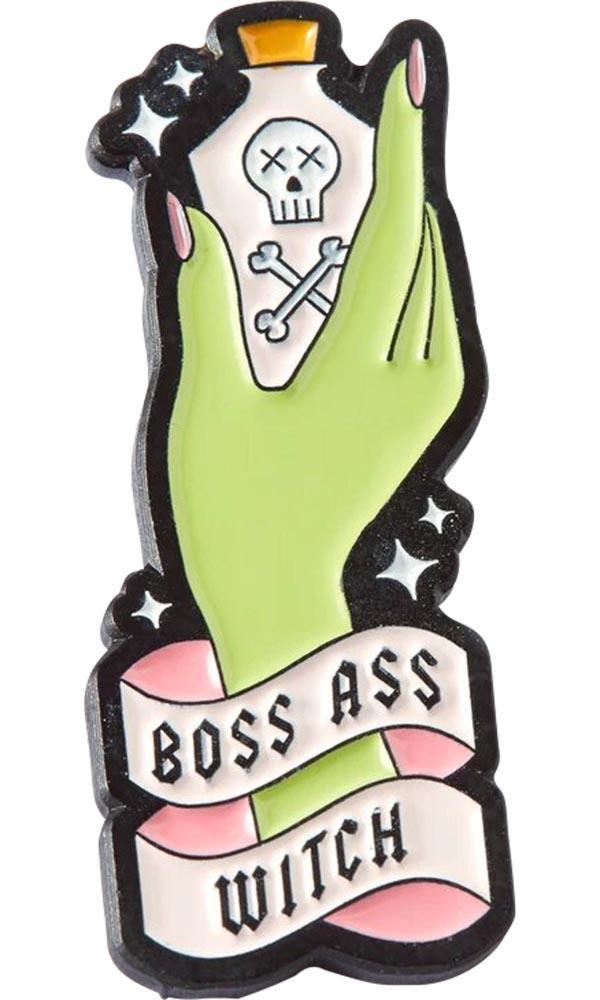 Boss Ass Witch | ENAMEL PIN