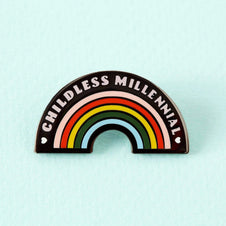Childless Millennial | ENAMEL PIN