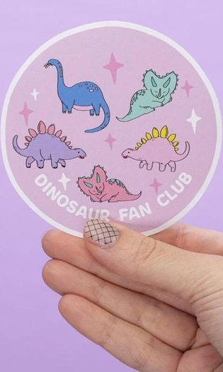 Dinosaur Fan Club Large | VINYL STICKER