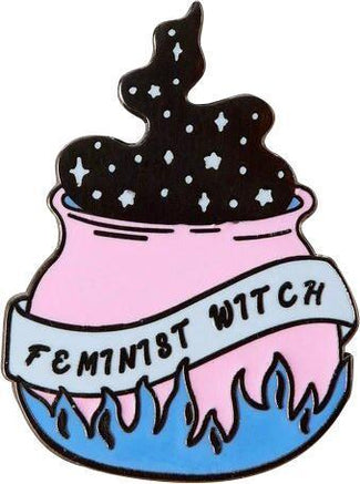 Feminist Witch Cauldron | ENAMEL PIN