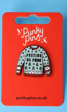 Festive as F**k Jumper | ENAMEL PIN