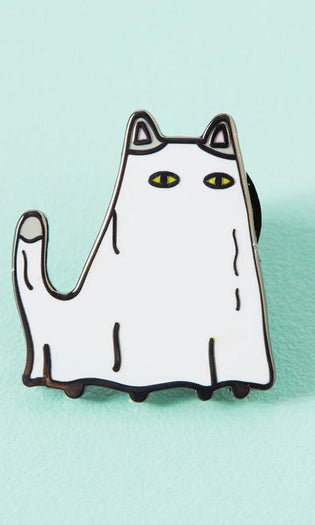 Ghost Cat | ENAMEL PIN