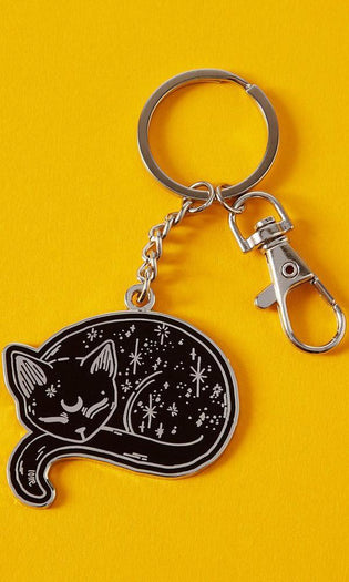 Mystical Cat | ENAMEL KEYRING
