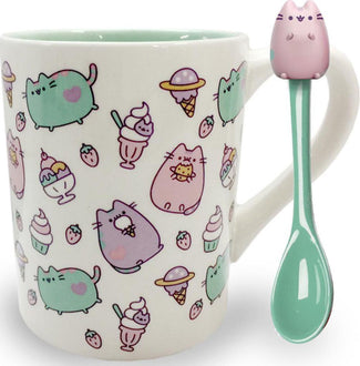 Pusheen | MUG WITH SPOON