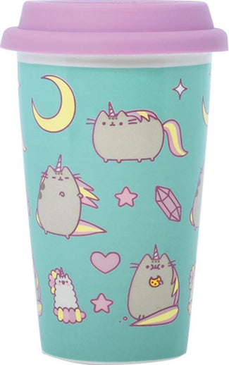 Pusheen Pusheenicorn Ceramic | TRAVEL MUG