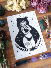 Clairvoyant Witch | ART PRINT