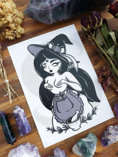 Kitchen Witch | ART PRINT