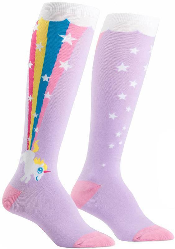 Rainbow Blast | KNEE HIGH SOCKS