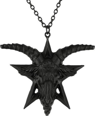 Baphomet [Black] | NECKLACE
