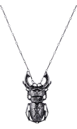 Beetle [Silver] | NECKLACE