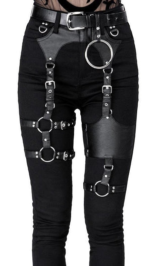 Black Gothic | Harness JEANS