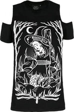 Burn The Witch Cold Shoulder | T-SHIRT