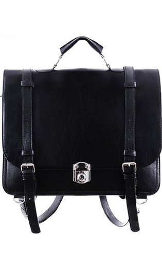 Classic Black Messenger | BAG^