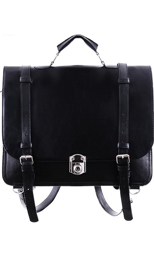 Classic Black Messenger | BAG