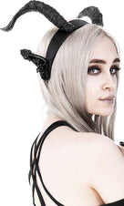 Dark Elf Horns & Ears | HEADBAND