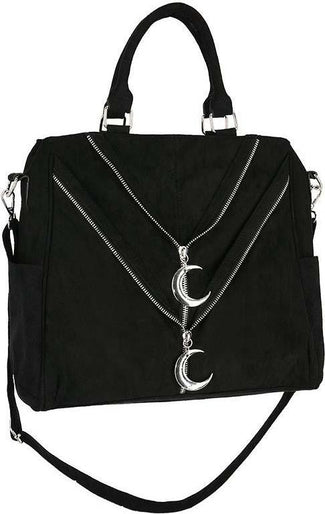 Double Zipped Moon | SHOPPER BAG