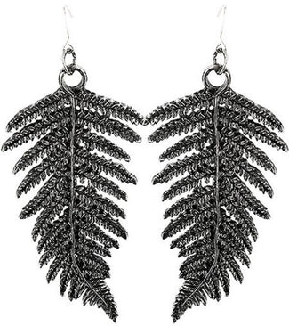 Fern [Silver] | EARRINGS