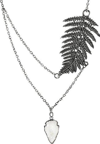 Fern [Silver] | NECKLACE