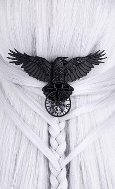 Helm of Awe Raven | HAIR CLIP