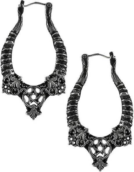 Horns [Silver] | EARRINGS