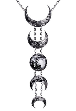 Lunar [Silver] | NECKLACE