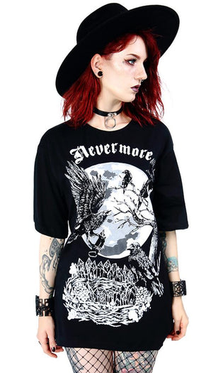 Nevermore Over-sized | T-SHIRT