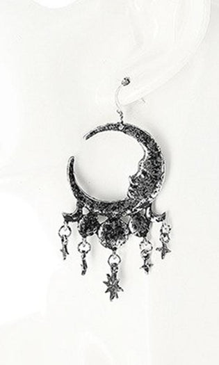 Sleepless Nights [Silver] | EARRINGS