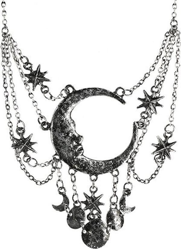 Sleepless Nights [Silver] | NECKLACE*